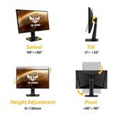 27 WQHD LED TN monitors TUF Gaming, Asus