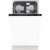 Iebūvējama trauku mazgājamā mašīna, Gorenje / 10 komplektiem