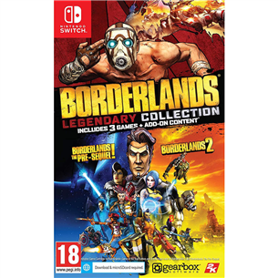 Switch game Borderlands: Legendary Collection