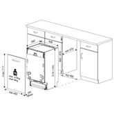 Built-in dishwasher Beko (11 place settings)