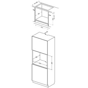Built-in oven, Hansa (65 L)