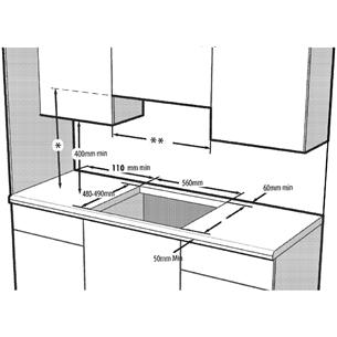 Интегрируемая газовая варочная панель Beko