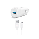 Auto lādētājs SpeedCharger QC 3.0, TTec / USB Type-C