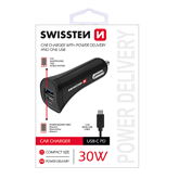 Car charger, Swissten / MicroUSB