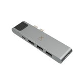 Adapteris USB-C HUB 7-IN-1 priekš MacBook, Xtorm