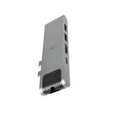 Adapteris USB-C HUB 7-IN-1 priekš MacBook, Xtorm