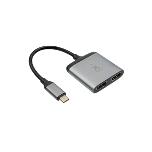 Adapteris USB-C uz 2x HDMI, Xtorm