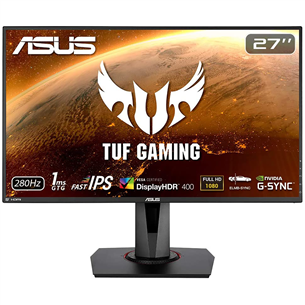 27'' Full HD LED IPS monitors TUF Gaming, Asus VG279QM