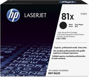 Toneris lāzerprinterim 81X, HP