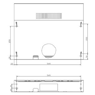 Cooker hood Cata (200 m³/h)