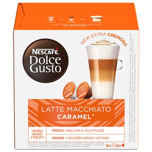 Kafijas kapsulas Nestle Caramel Latte Macchiato
