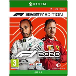 Xbox One game F1 2020 Seventy Edition