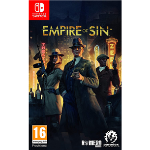Switch game Empire of Sin 4020628725976