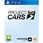 PS4 game Project CARS 3