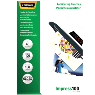 Laminating pouches A3, Fellowes 5351205
