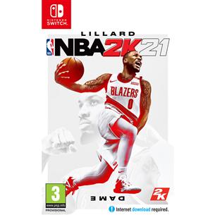 Switch game NBA 2K21