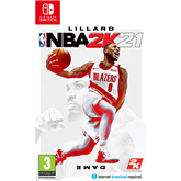 Spēle priekš Nintendo Switch, NBA 2K21