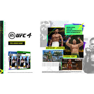 Игра UFC 4 для Xbox One