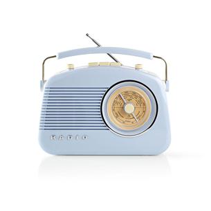 Radio RDFM5000BU, Nedis