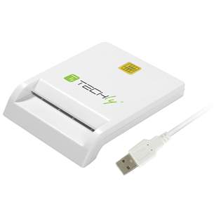 Smart card reader Techly Compact USB 2.0 29150
