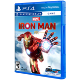 PS4 VR game Iron Man