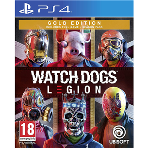 Spēle priekš PlayStation 4, Watch Dogs: Legion GOLD Edition PS4WDLEGIONG
