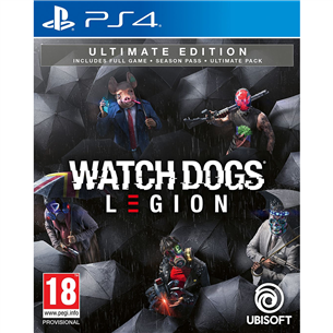 Spēle priekš PlayStation 4, Watch Dogs: Legion Ultimate Edition PS4WDLEGIONU