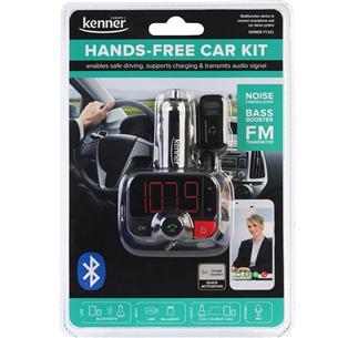 Auto lādētājs & FM modulators FT-621 BT, Kenner