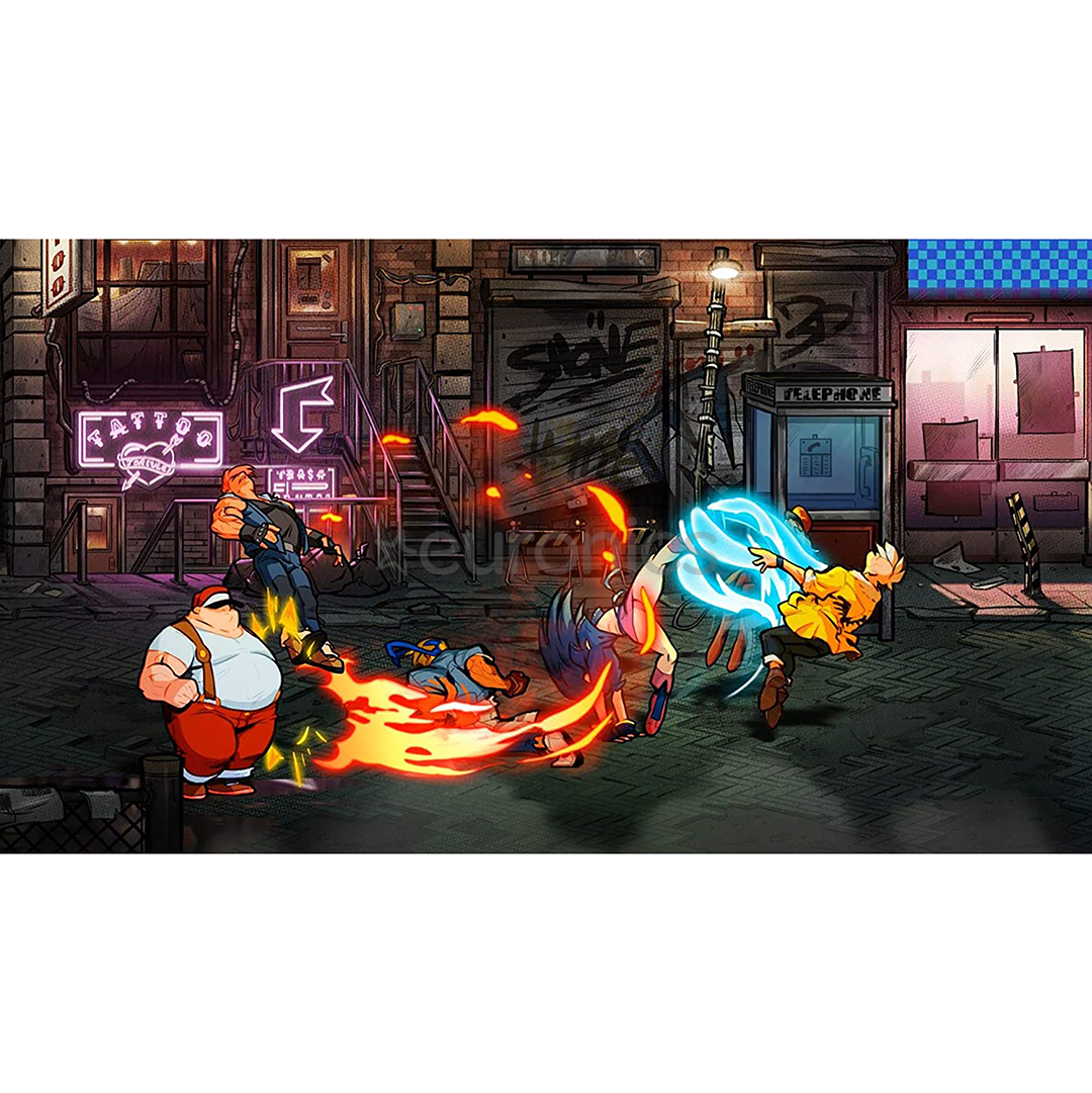 Spēle priekš Nintendo Switch, Streets of Rage 4
