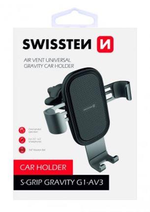 Swissten Auto telefonu turētājs Gravity 360 S-GRIPG1-AV3