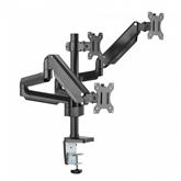 Monitor desk mount Essentials Triple Gaslift (13-27)