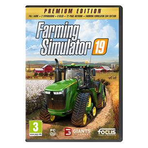 PC game Farming Simulator 19 Premium Edition 3512899123359