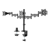 Monitor desk mount Deltaco Triple
