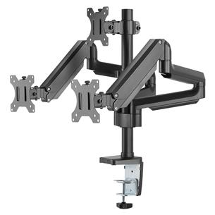 Monitora statīvs Triple Gas Spring, Deltaco ARM-0352