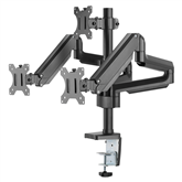Monitor desk mount Deltaco Triple Gas Spring