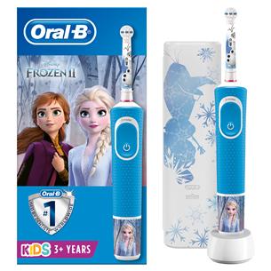 Electric toothbrush Braun Oral-B Frozen + travel case D100FROZENTRAVEL