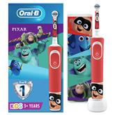 Elektriskā zobu birste Oral-B PIXAR + ceļojuma futrālis, Braun