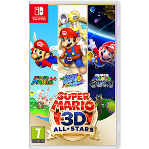 Switch game Super Mario 3D All Stars
