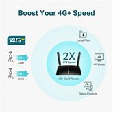 Wireless router with 4G+ Cat6 Archer MR600, Tp-Link
