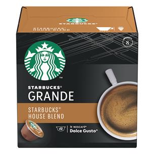 Кофейные капсулы Starbucks Nescafe Dolce Gusto House Blend