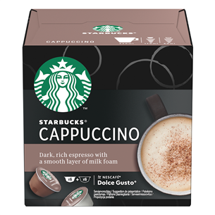 Кофейные капсулы Starbucks Nescafe Dolce Gusto Cappuccino
