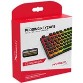 Klaviatūras taustiņu vāciņi Pudding Keycaps, HyperX