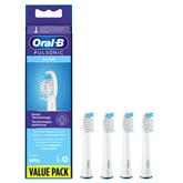 Rezerves zobu birstes uzgaļi Oral-B Pulsonic Regular, Braun