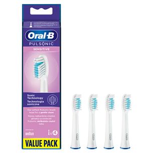 Насадки для электрической зубной щетки Braun Oral-B Pulsonic (Sensitive, 4 шт)