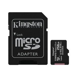 Atmiņas karte Canvas Select Plus microSD, Kingston / 256GB SDCS/256GB