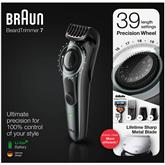 Триммер для бороды Braun + бритва Giilette Fusion