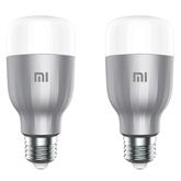 Spuldze E27 Mi Smart Bulb, Xiaomi / 2 gab.