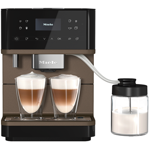 Espresso machine Miele MilkPerfection CM6360OBBP