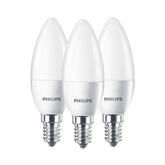 LED spuldze, Philips / E14, 40W, 3 gab