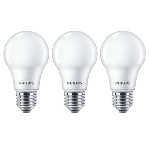 3 x LED lamp Philips (E27, 60W) 929002306203